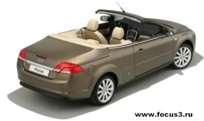Форд Фокус купе-кабриолет