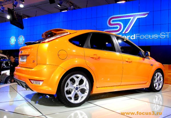 Новый Форд Фокус ST (официальная презентация)