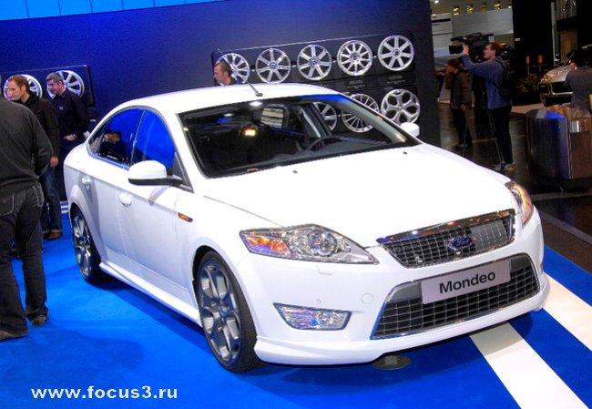 Новый Форд Мондео (4 фото)