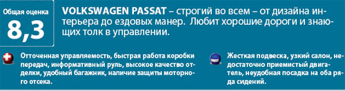 Тест: Nissan Teana, Ford Mondeo, Volkswagen Passat, Toyota Camry