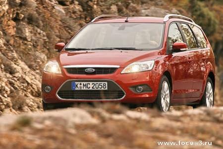 Обзор нового Ford Focus универсал. (+ 25 новых фото)