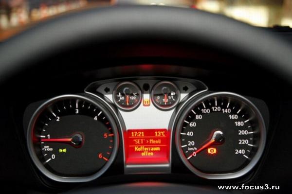 Новое оборудование и опции обновленного Форд Фокус