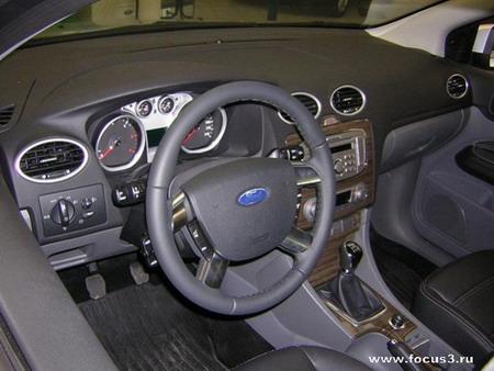 Салон Форд Фокус (комплектация Ghia)
