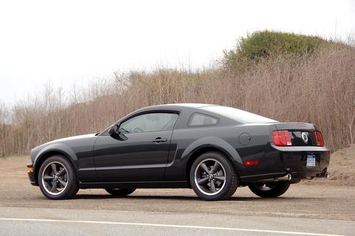 Первое видео нового Ford Mustang (Bullitt)