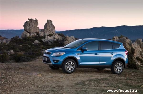 Ford показал публике серийную версию кроссовера Kuga