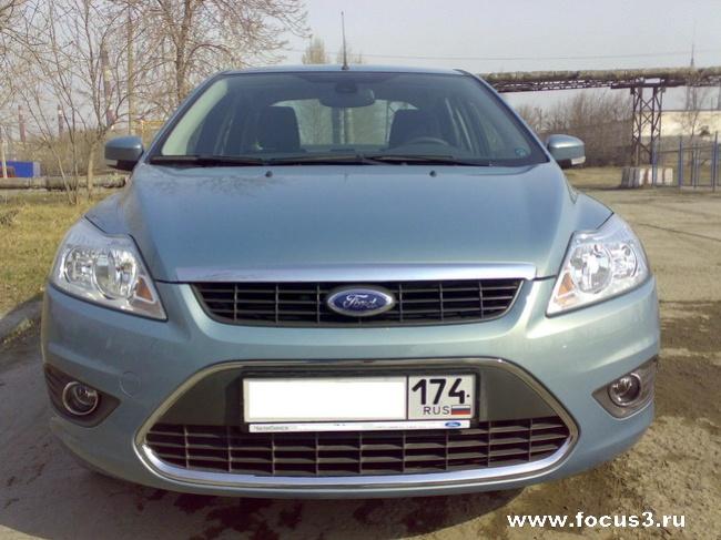 Форд Фокус 2008, цвет «AVALON» (Испанская сборка)