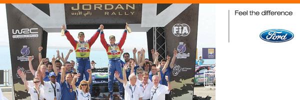 Хирвонен одерживает победу в Иордании, Ford сохраняет лидерство на чемпионате мира