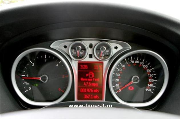 Панель приборов нового форд фокуса