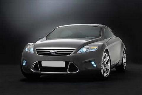 Красивая машина Ford Iosis Concept Car.