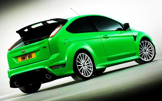 Новый Ford Focus RS сошел с конвейера