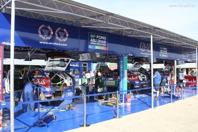 Команда Ford WRC заняла 1 место на ралли