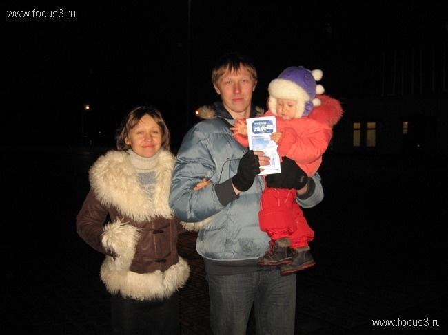 Праздничная встреча в Санкт-Петербурге