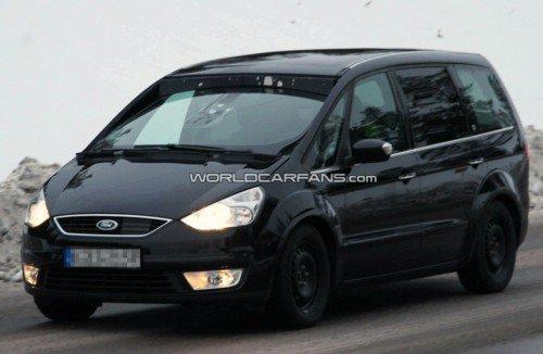 Новый Ford Galaxy проходит окончательные испытания