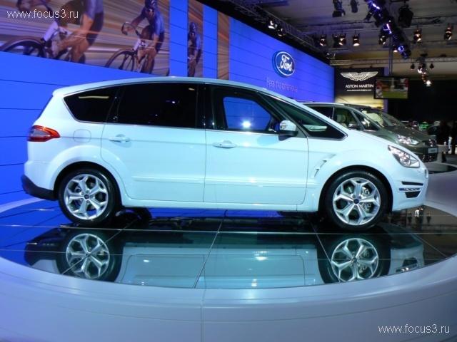 Ford официально представил новые S-MAX и Galaxy 2011