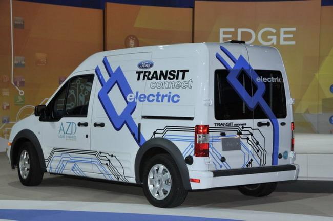Ford Transit Connect стал электрическим