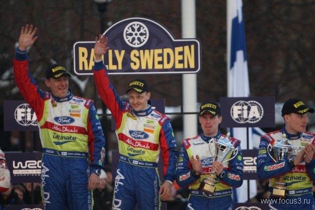 WRC Sweden 2010: Ford Focus