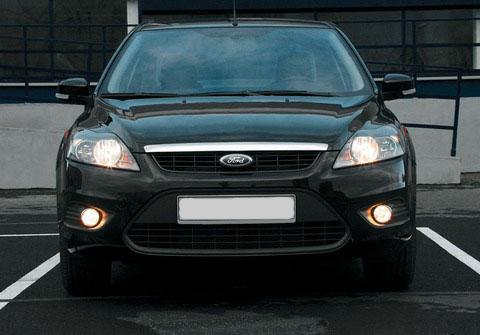 Ford Focus самая популярная иномарка в Москве