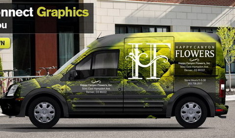 Ford Transit Connect Graphic
