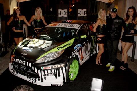 �������� ������ ������� Ford Fiesta Monster