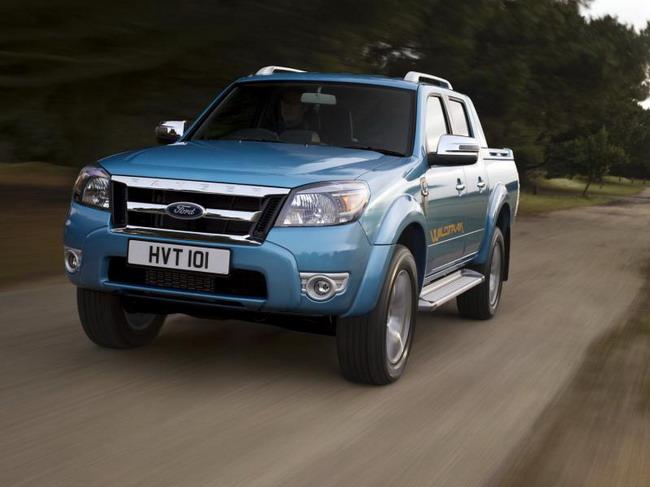 Пикап Ford Ranger теперь можно заказать с АКПП