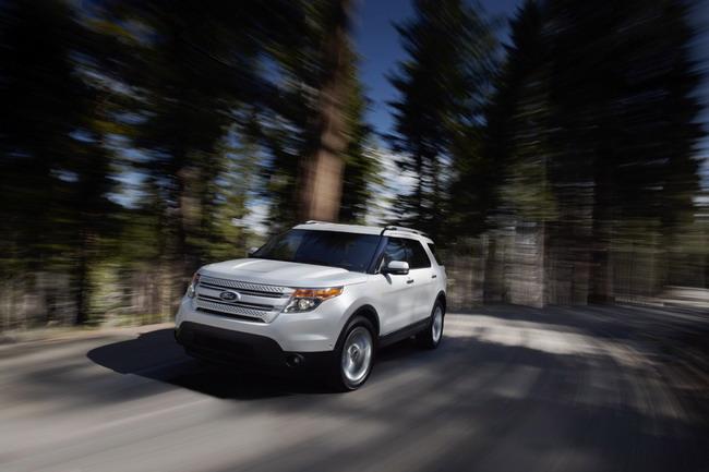 Новый Ford Explorer 2011. Официальные фото