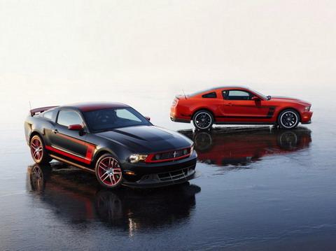 ����������� ���� Mustang Boss 302