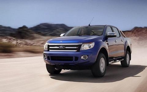 ����������� ���� Ford Ranger 2012