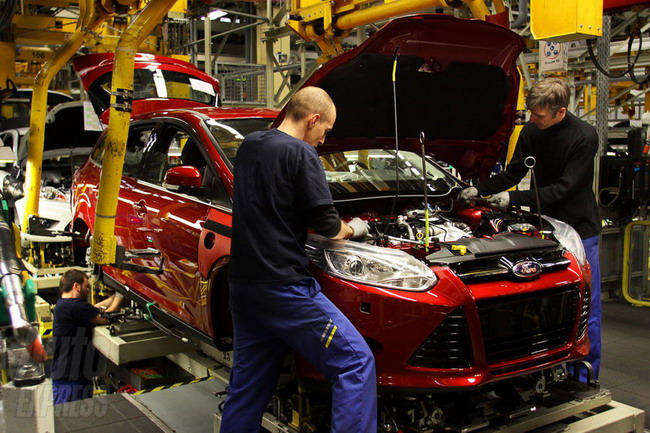 В Европе началось производство Форд Фокус 3