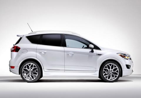 Прототип новой Ford Kuga покажут в январе