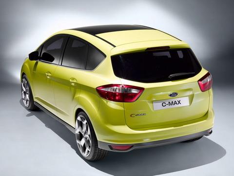 Багажник Ford C-MAX можно будет открывать ногой