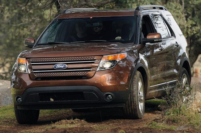 Новые фото Ford Explorer 2011