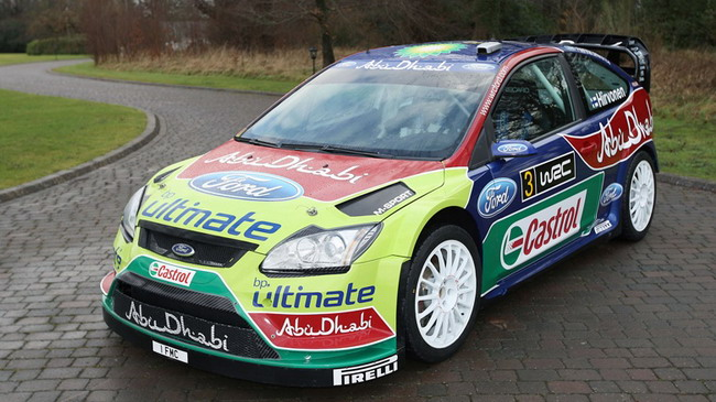 Ford Focus RS World Rally Car