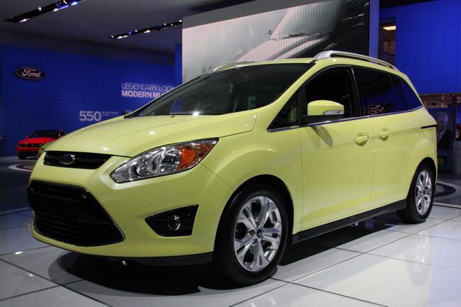 Детройт 2011: Ford C-MAX