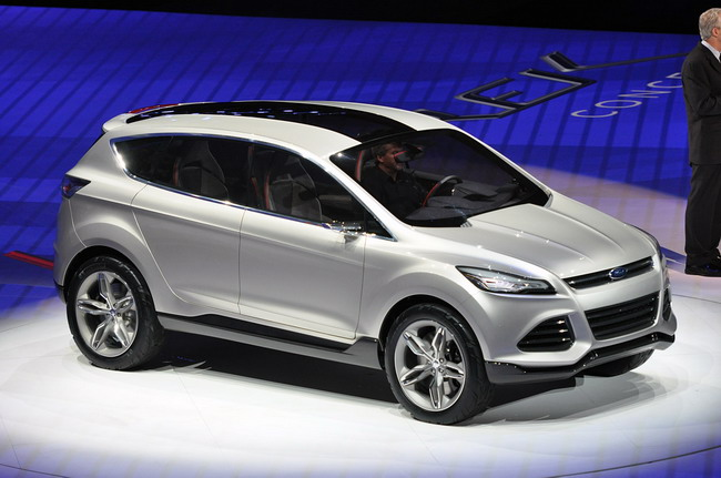 Ford Vertrek показан на Детройтском автосалоне