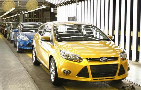 Фотографии ФФ3 с заводов Ford