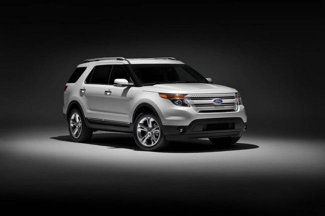 Ford Explorer выйдет на российский рынок в этом году