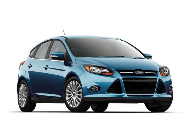 Основные цвета Форд Фокус 3