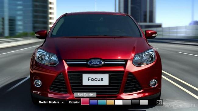 Цвета Ford Focus с американского сайта Ford