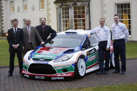 Официально представлена новая Ford Fiesta WRC