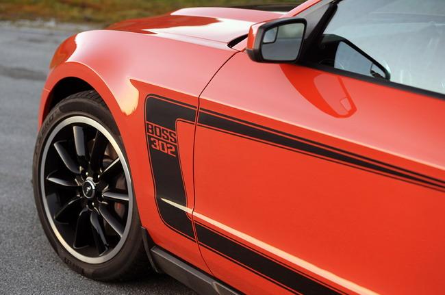 Тест 2012 Ford Mustang Boss 302