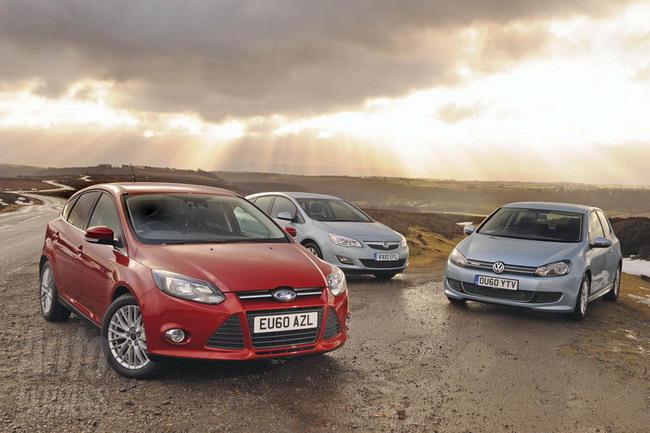 Новый Форд Фокус против конкурентов
