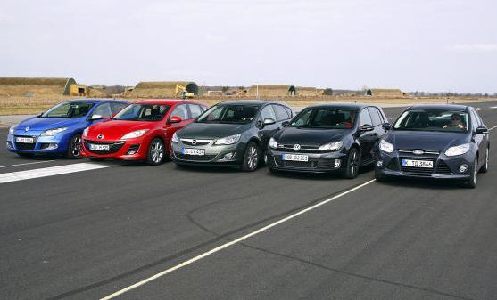 Сравнительный тест Форд Фокус