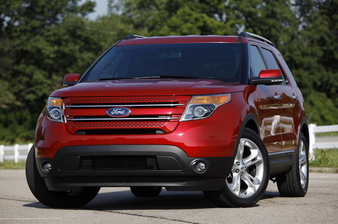 Ford Explorer EcoBoost 2012