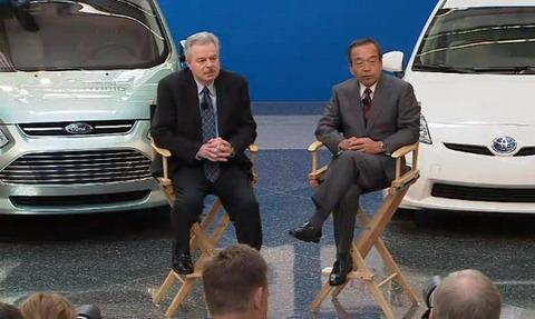 Ford и Toyota будут сотрудничать для создания гибридной системы