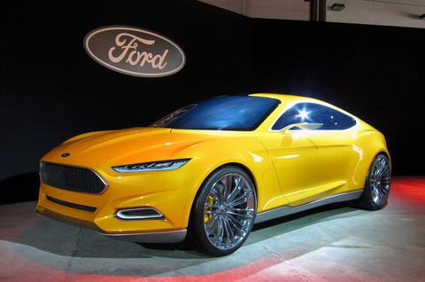 Ford Evos Concept Live Photos
