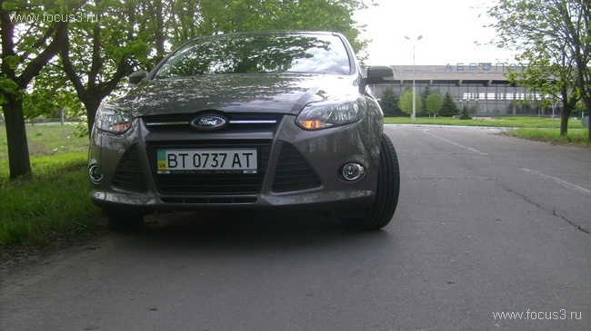 Ford Focus 3 Sterling Gray