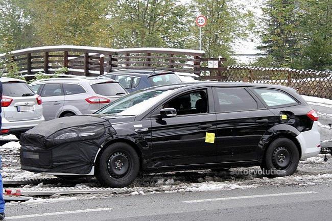 Репортеры запечатлили новый универсал Ford Mondeo