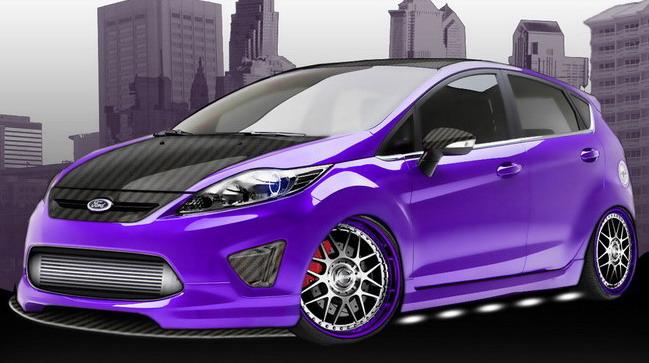 Ford Focus и Fiesta будут также представлены на SEMA