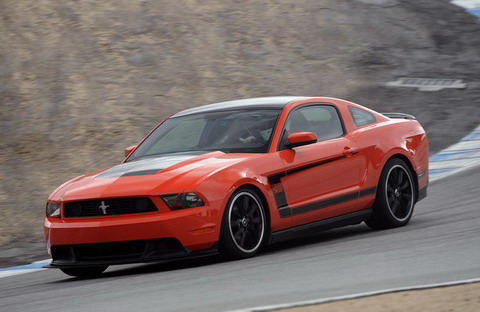 ���������� Ford Mustang � �������� TracKey ��������� ��������