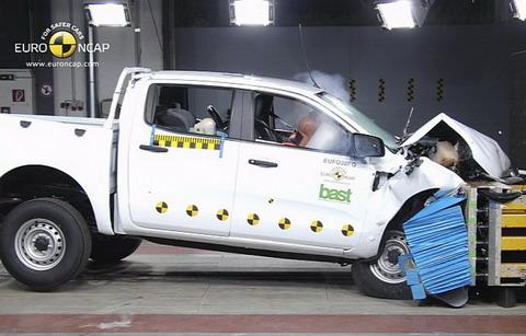 Ford Ranger ������� ������� 5 ����� EuroNCAP